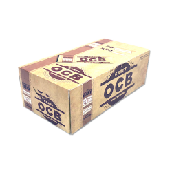 OCB Organic HEMP Craft Rolling Papers 50x50 69mm